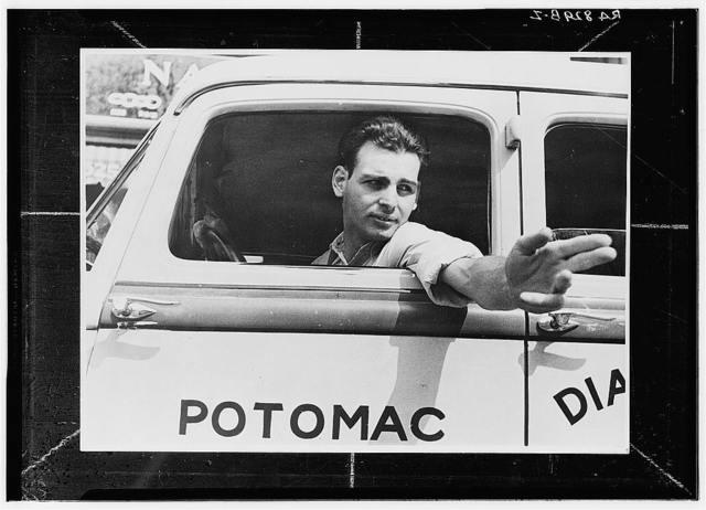 Taxi driver. Washington, D.C.