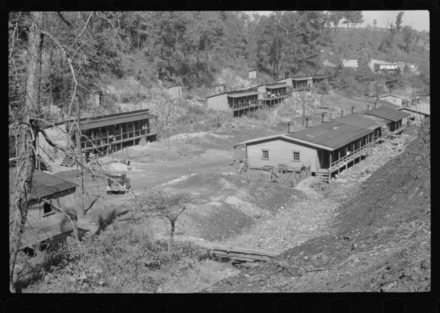 The Patch, a shanty town at Cassville, Scotts Run, West Virginia