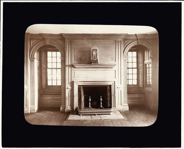 [Toddsbury, Nuttal vicinity, Gloucester County, Virginia. Fireplace and panelled surround]