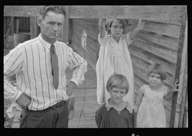 Trische family, tenant farmers, Plaquemines Parish, Louisiana
