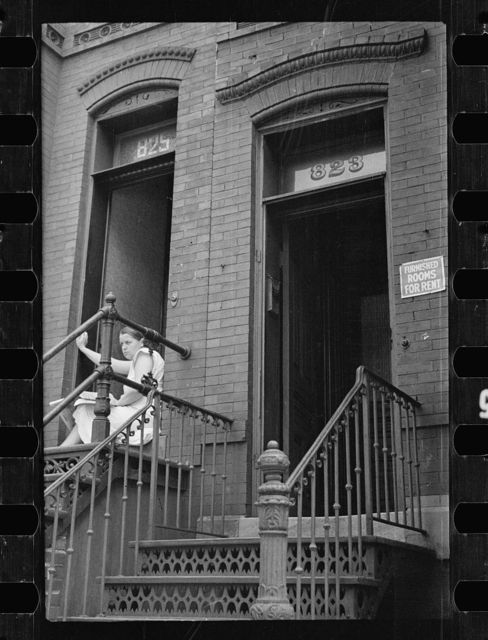 Typical rooming house, Washington, D.C.
