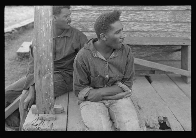 Unemployed trappers, Louisiana