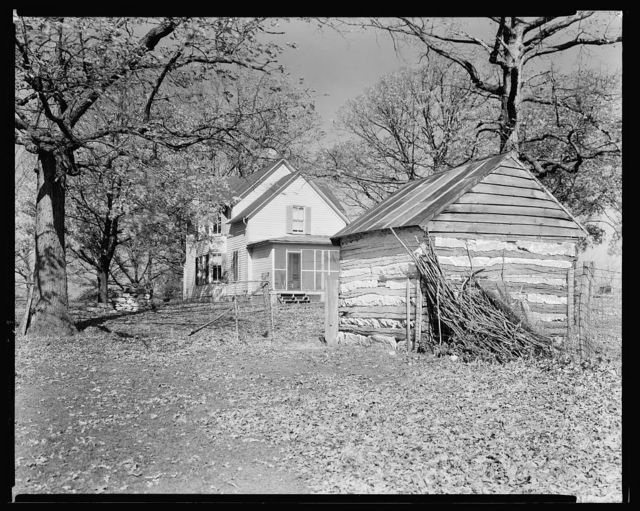 Unidentified Cabin, Albemarle County, Virginia