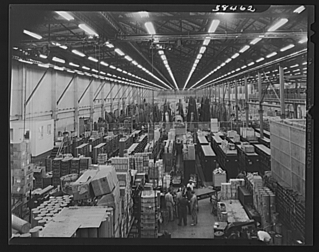 Vega Aircraft Corporation. Burbank, California