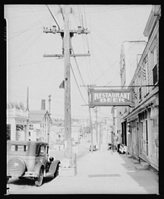 View of main street. Mount Pleasant, Pennsylvania. Westmoreland County