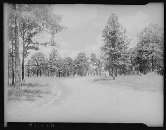 View of McComb Homesteads. Pike County, Mississippi