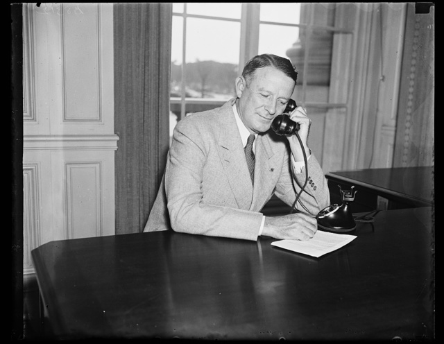 Vincent M. Miles, member of the Social Security Board, photographed today. 9/13/35