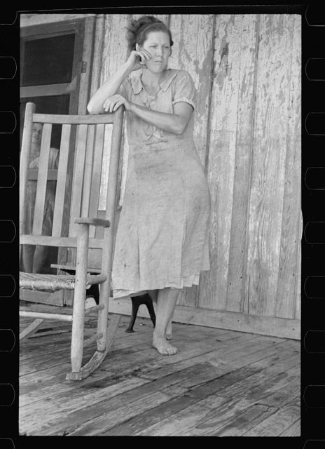 Wife of a sharecropper, Stortz cotton plantation, Pulaski County, Arkansas