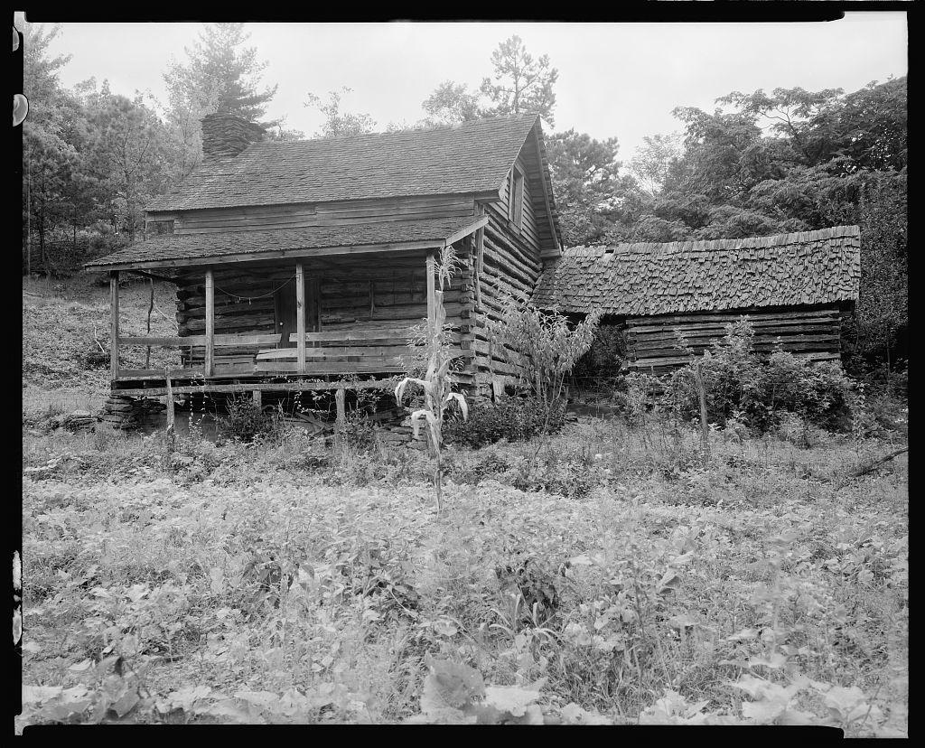William Morris Log Cabin, Saluda, Polk County, North Carolina