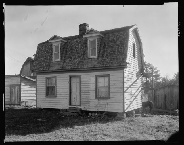 Winsor outbuildings, Gordonsville vic., Albemarle County, Virginia