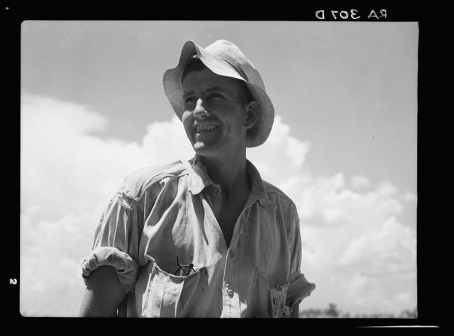Young resettled farmer. Dyess Colony, Arkansas