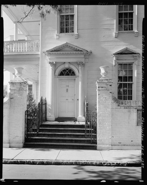 106 Tradd St., Col. John Stuart House, Charleston, Charleston County, South Carolina