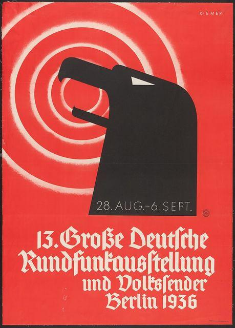 13 Grosse deutsche Rundfunkausstellung und Volkssender, Berlin 1936 / Riemer.