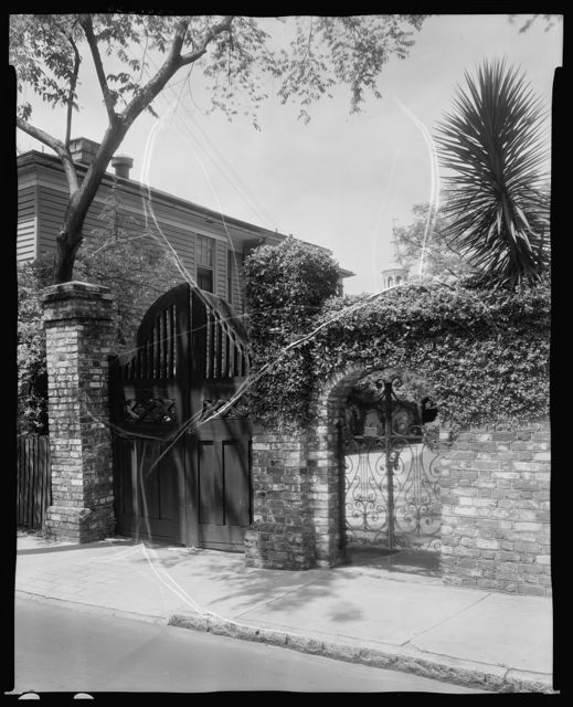 46 Tradd Street, Alfred Hutty House, Charleston, Charleston County, South Carolina
