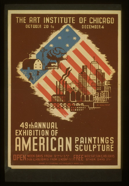 49th annual exhibition of American paintings sculpture / M. Waltrip.
