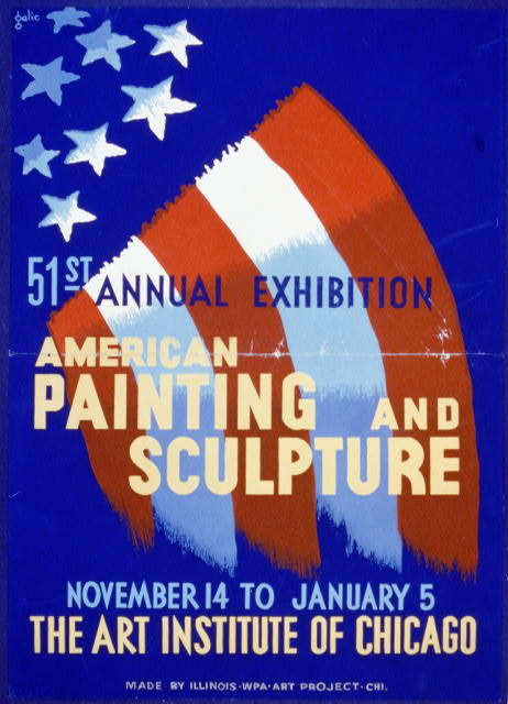 51st annual exhibition - American painting and sculpture - The Art Institute of Chicago / galic.