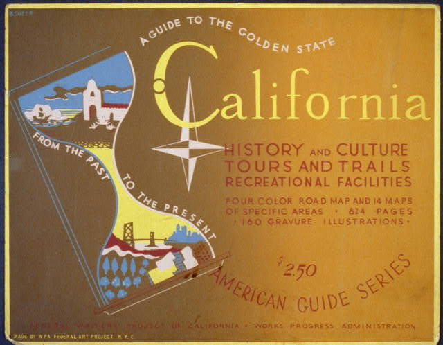 A guide to the golden state from the past to the present California history and culture, tours and trails, recreational facilities : American guide series / / B. Sheer.