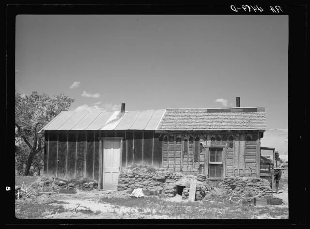 A homestead on poor farmland that is now public domain. Pennington County, South Dakota