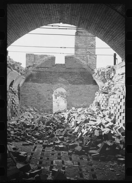 Abandoned brick factory, not far from Jackson, Ohio