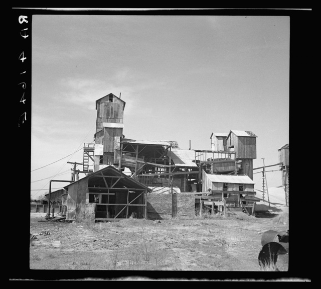 Abandoned lead mine. Cherokee County, Kansas