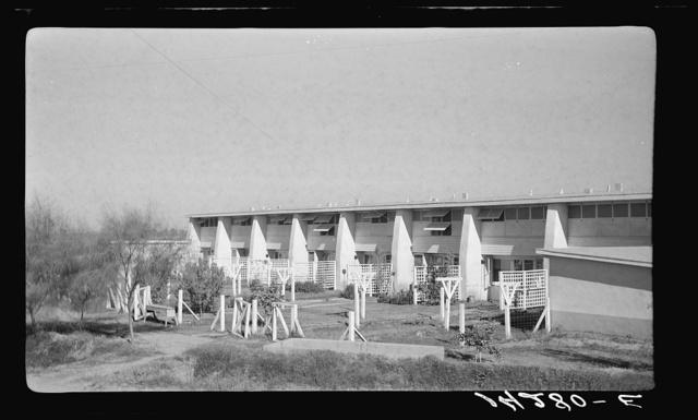 Apartment building. Chandler tract, Arizona