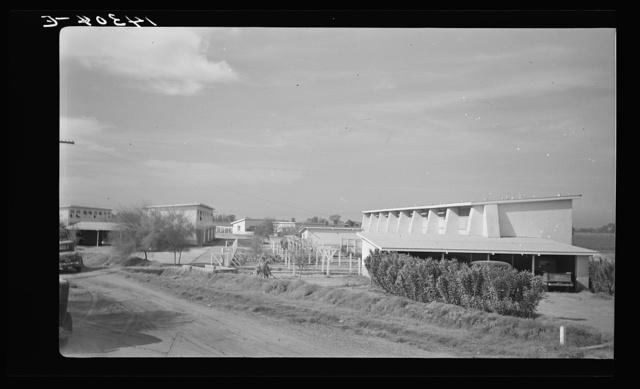 Apartment buildings. Chandler tract, Arizona