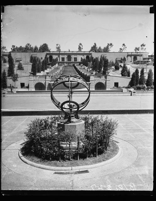 [Armillary sphere, Meridian Hill Park, Washington, D.C.]