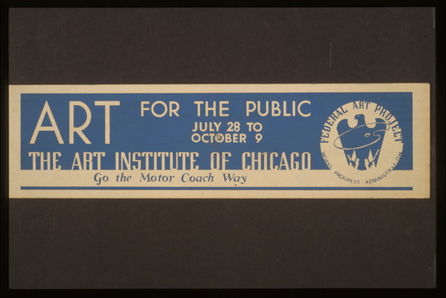 Art for the public The Art Institute of Chicago.