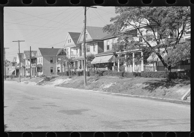 Attractive Negro homes in a better Negro district, Newport News, Virginia