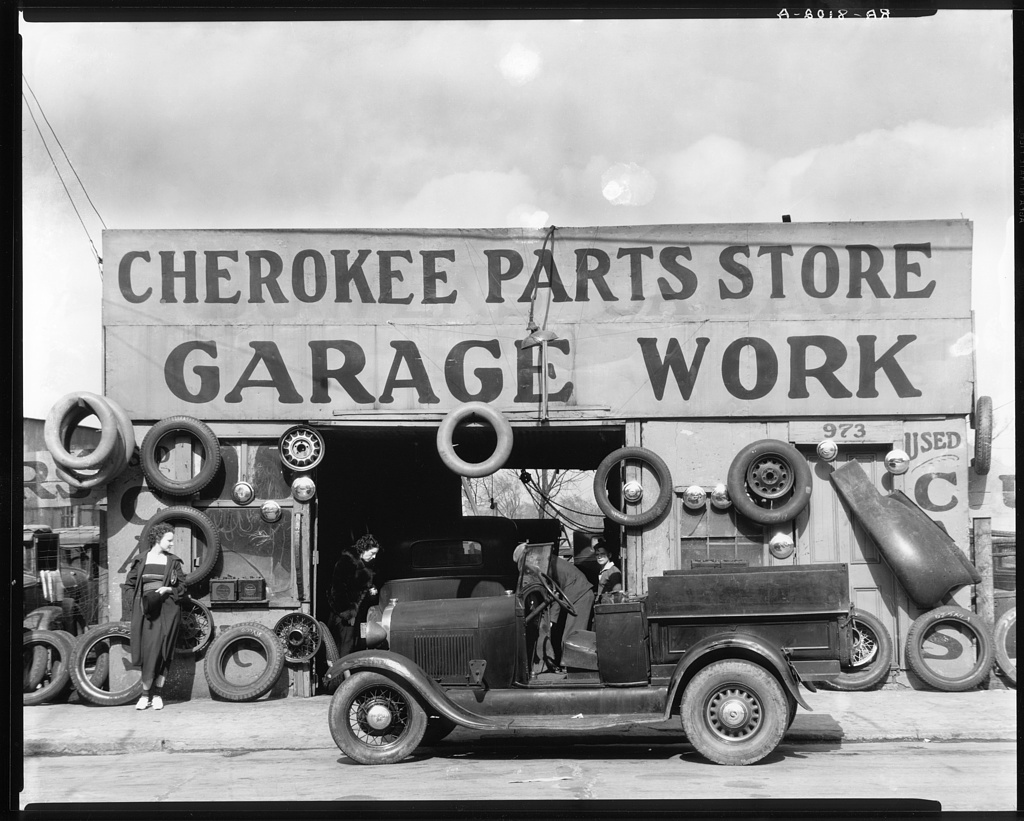 Auto parts shop. Atlanta, Georgia