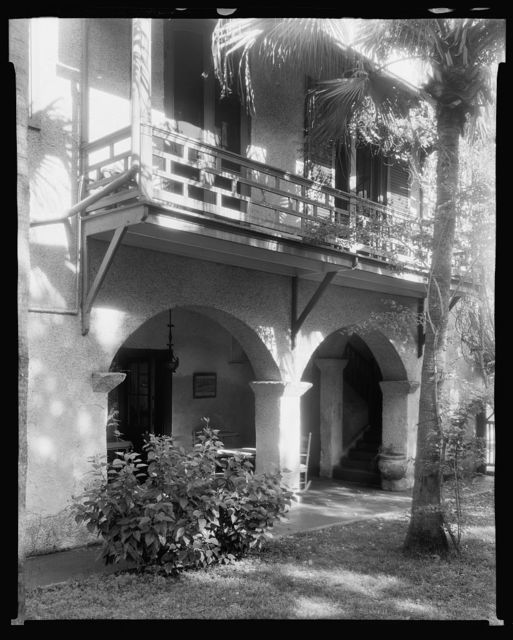 Bigelow House, 233 St. George Street, St. Augustine, St. Johns County, Florida