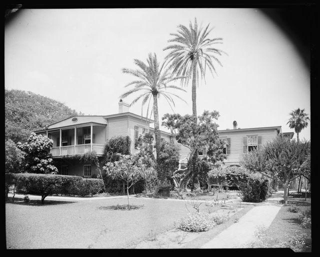 Burt House, 143 George St., St. Augustine, St. Johns County, Florida