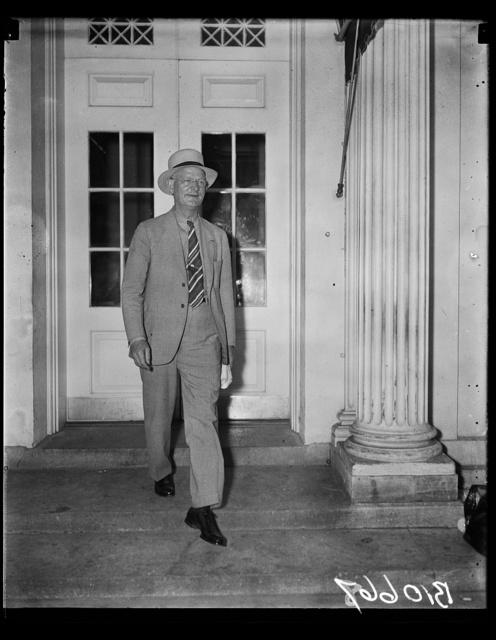 [Burton K. Wheeler at White House, Washington, D.C.]