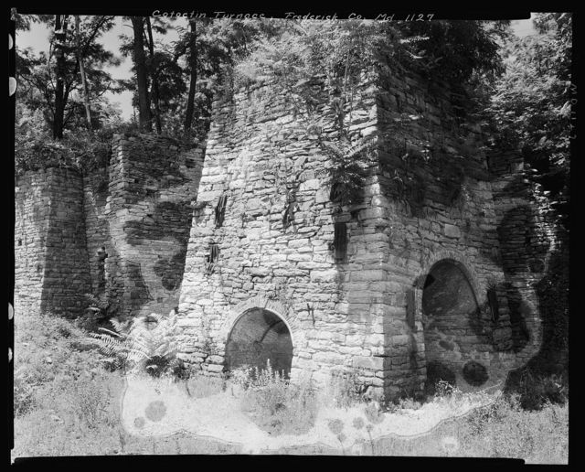 Catoctin Furnace, iron smelter, Thurmont vic., Frederick County, Maryland