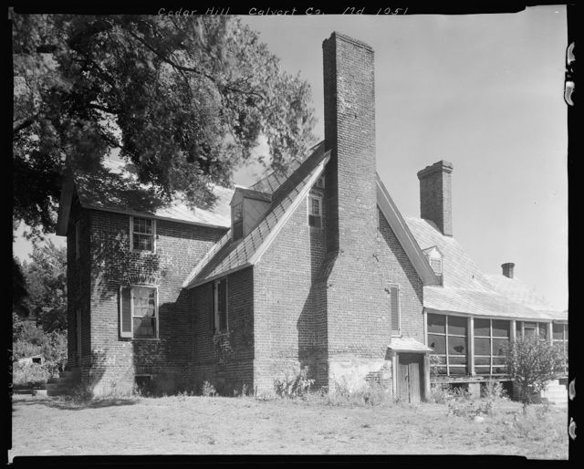 Cedar Hill, Barstow vic., Calvert County, Maryland