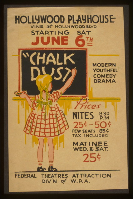 """Chalk dust"" modern, youthful, comedy, drama."