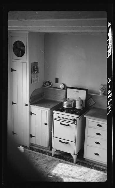 Chandler, Arizona. Apartment kitchen
