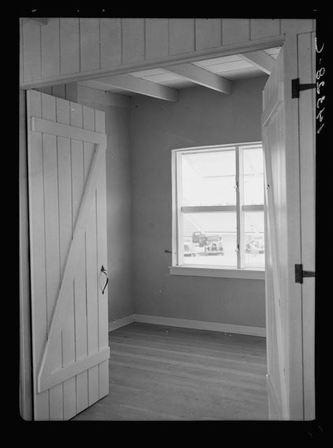 Chandler tract, Arizona. Apartment building, interior view