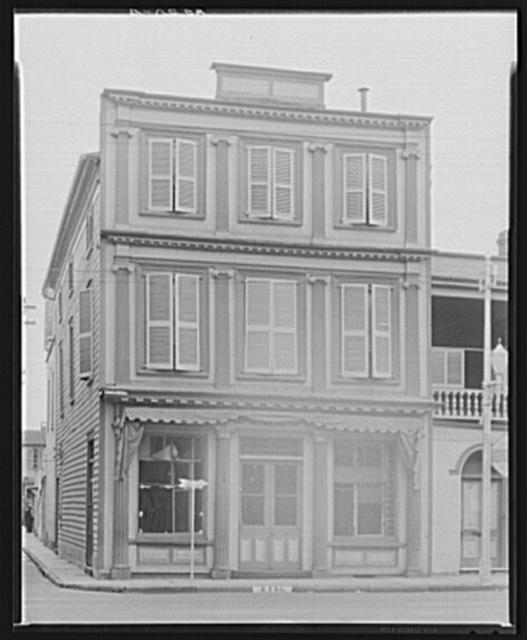 Charleston, South Carolina. False front