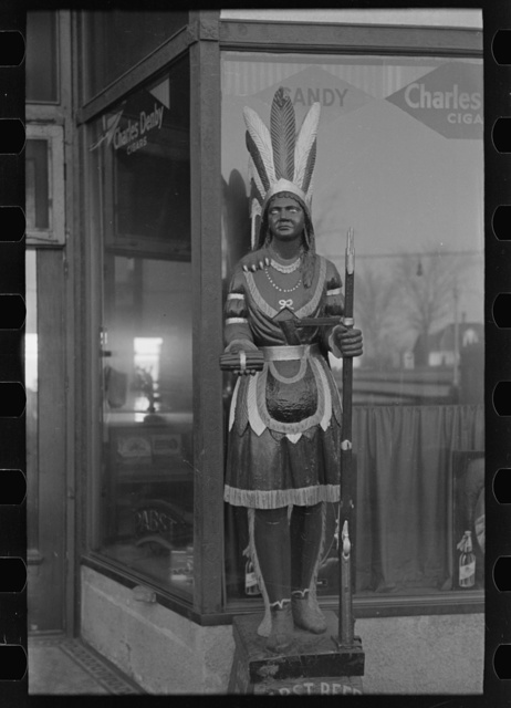 Cigar store Indian, Denison, Iowa