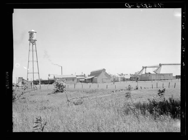 Cotton oil mill. West Memphis, Arkansas