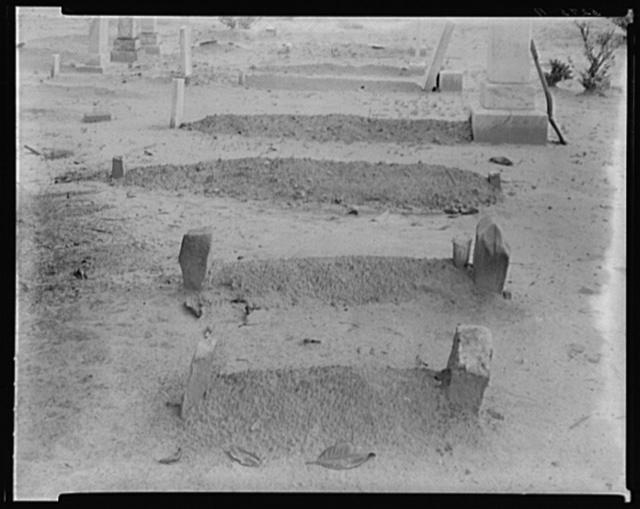 [Country graveyard, Southeastern U.S.]