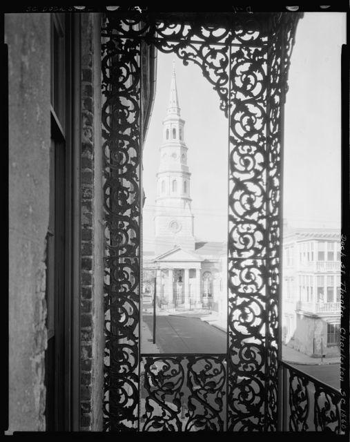 Dock Street Theatre, view from balcony, Charleston, Charleston County, South Carolina