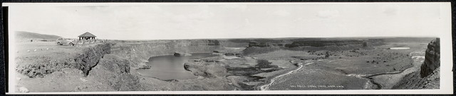 Dry falls, Grand Coulee, Wash., 4-30-'36