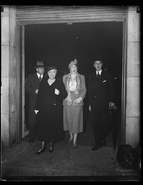 [Edith Nourse Rogers, 2nd from left]