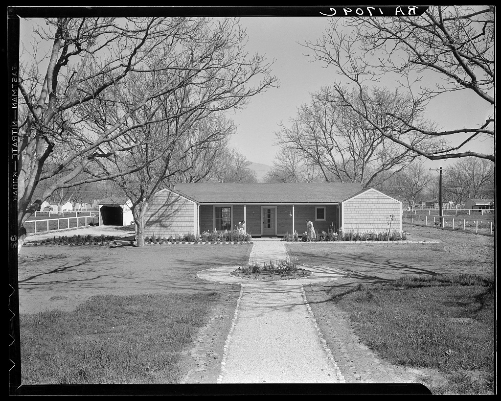 El Monte federal subsistence homesteads. Two-bedroom house, three in family. Girl eleven. Father truck driver. Earns ninety-five dollars monthly, pays fifteen dollars and twenty cents rent to apply on purchase. California