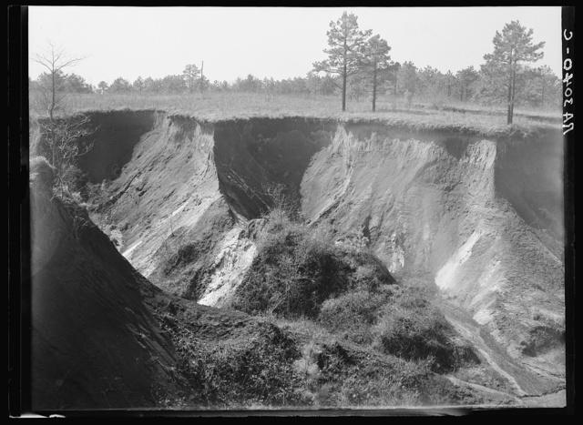 Erosion near Oxford, Mississippi