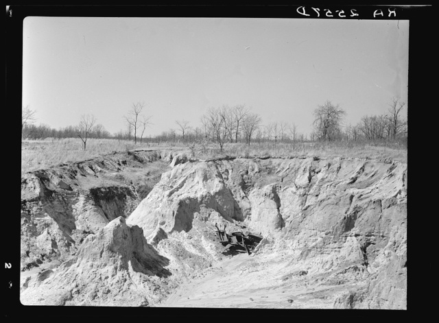 Erosion on Coalins Forest and Game Reservation between Cumberland and Tennessee Rivers in Kentucky