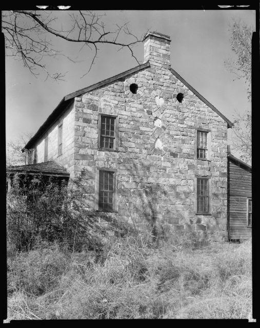 Ezekiel Wallis house, Charlotte vic., Mecklenburg County, North Carolina