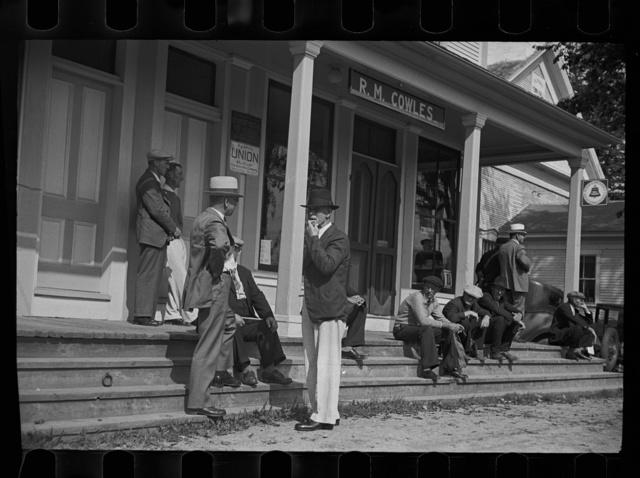 Fair scene, Albany, Vermont